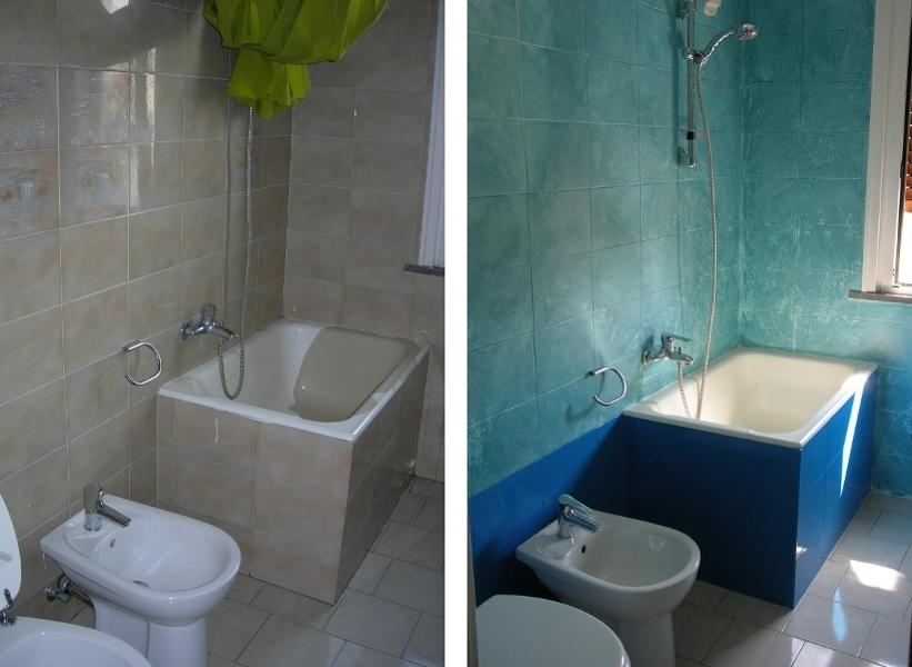 Piastrelle del bagno beautiful come pulire le fughe delle - Come pulire le piastrelle del bagno ...